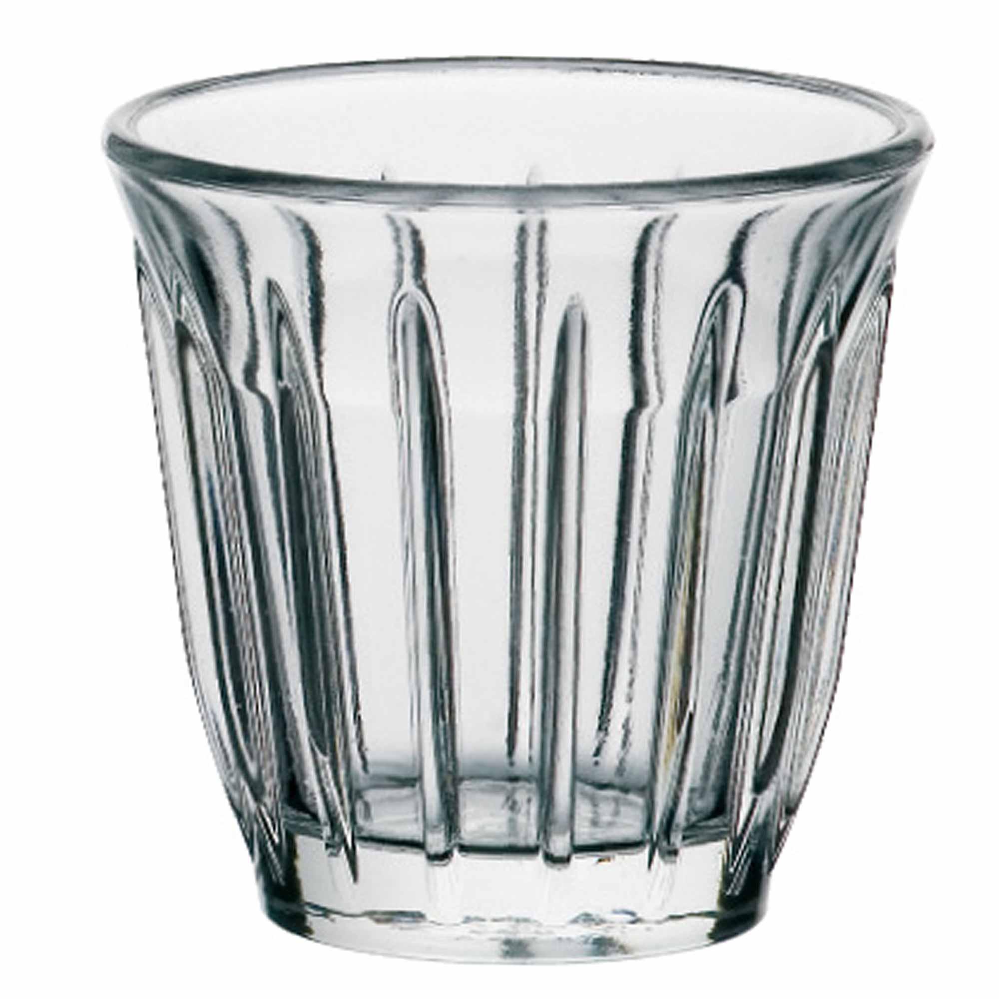 La Roch 232 Re Zinc Espresso Cups 3 5oz 100ml Drinkstuff
