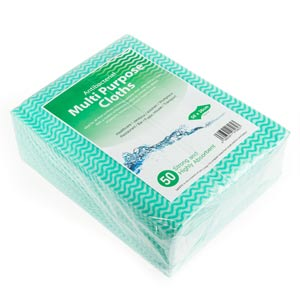 Antibacterial Cloths Green
