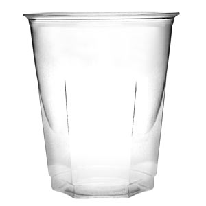 Crystal Disposable Party Cups Clear 8.75oz / 250ml