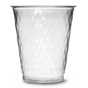 Diamond Disposable Party Cups Clear 8.75oz / 250ml