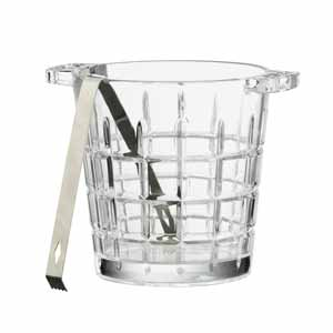 Newport Ice Bucket with Tongs 2ltr