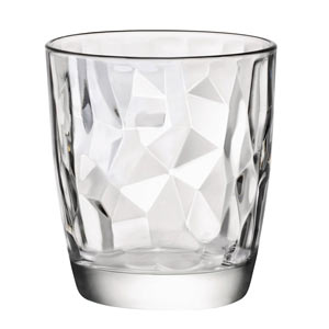 Diamond Water Glasses 10.5oz / 300ml