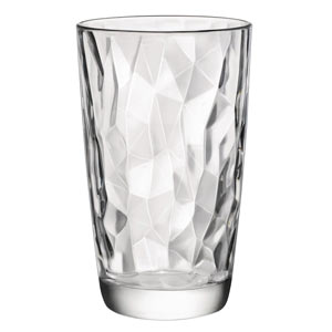 Diamond Highball Cooler Glasses 16.5oz / 470ml
