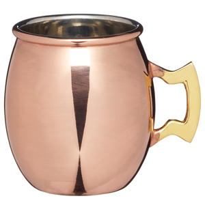 Master Class Artesa Copper Finish Mini Serving Mug 2.5oz / 70ml