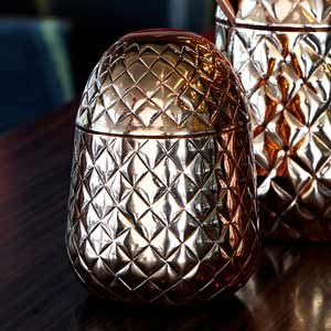 Copper Pineapple Cup 12.75oz / 350ml