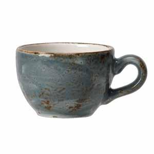 Steelite Craft Low Cup Blue 8oz / 230ml