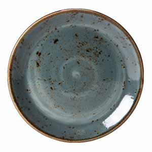 "Steelite Craft Coupe Plate Blue 6"" / 15.25cm"