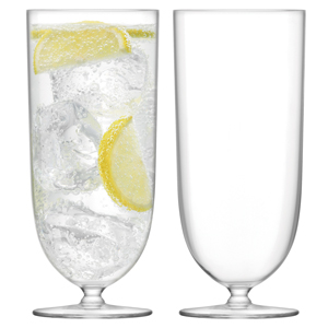 LSA Olivia Highball Glasses 12.5oz / 355ml