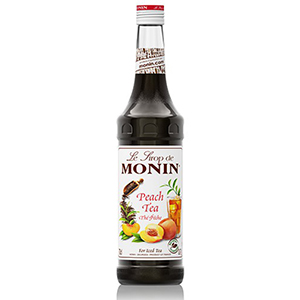Monin Peach Tea Syrup 1ltr