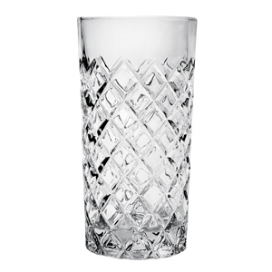 Healey Diamond Hiball Glasses 14.75oz / 420ml