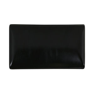Midnight Rectangular Tray Black 20 x 13cm