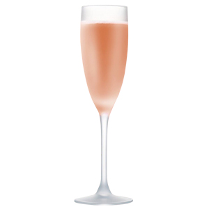 La Cave Frosted Champagne Flutes 5.6oz / 160ml