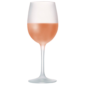 La Cave Frosted Wine Glasses 12oz / 360ml