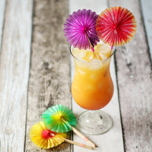 Sunflower Cocktail Picks