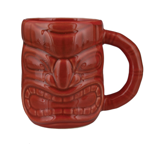 Tiki Mug Red 16oz / 450ml