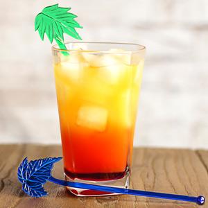 Palm Tree Cocktail Stirrers