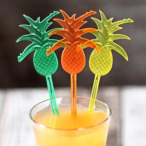 Pineapple Cocktail Stirrers