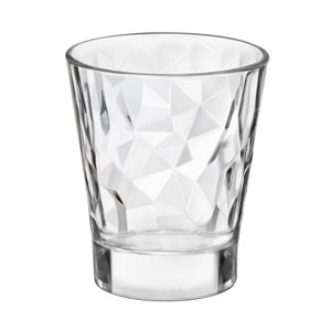 Diamond Glass Espresso Cups 2.8oz / 80ml