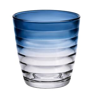 Circles Water Glasses Deep Blue 9.5oz / 270ml