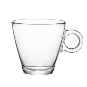 Easy Bar Glass Cappuccino Cups 230ml