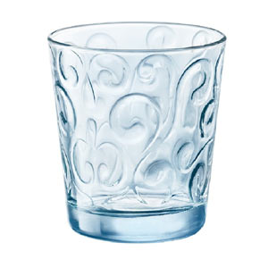 Naos Water Glasses Candy Blue 295ml