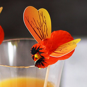 Bumblebee Cocktail Picks