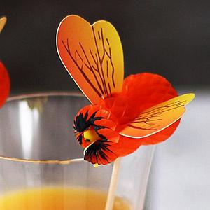 Bumblebee Cocktail Picks
