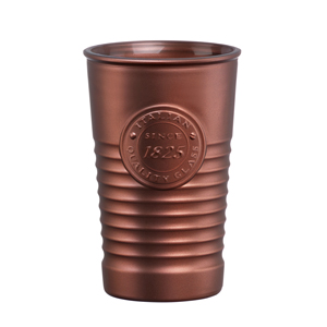 Officina 1825 Metallic Water Glasses Bronze 11.4oz / 325ml