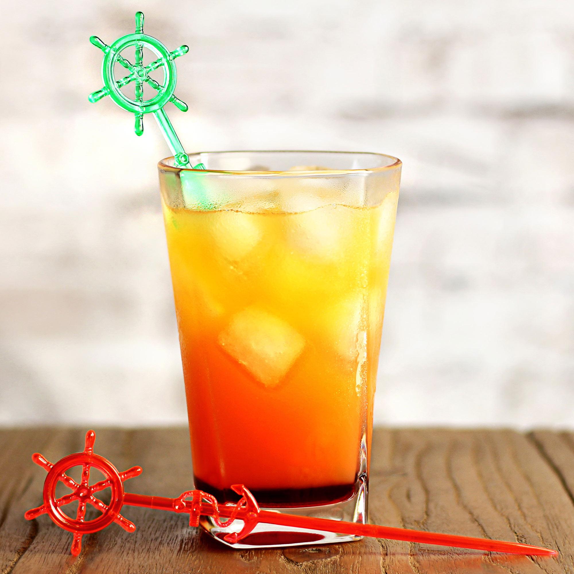 bar@drinkstuff Super Palm Cocktail Stirrers Set of 24 Novelty Drinks Stirrers