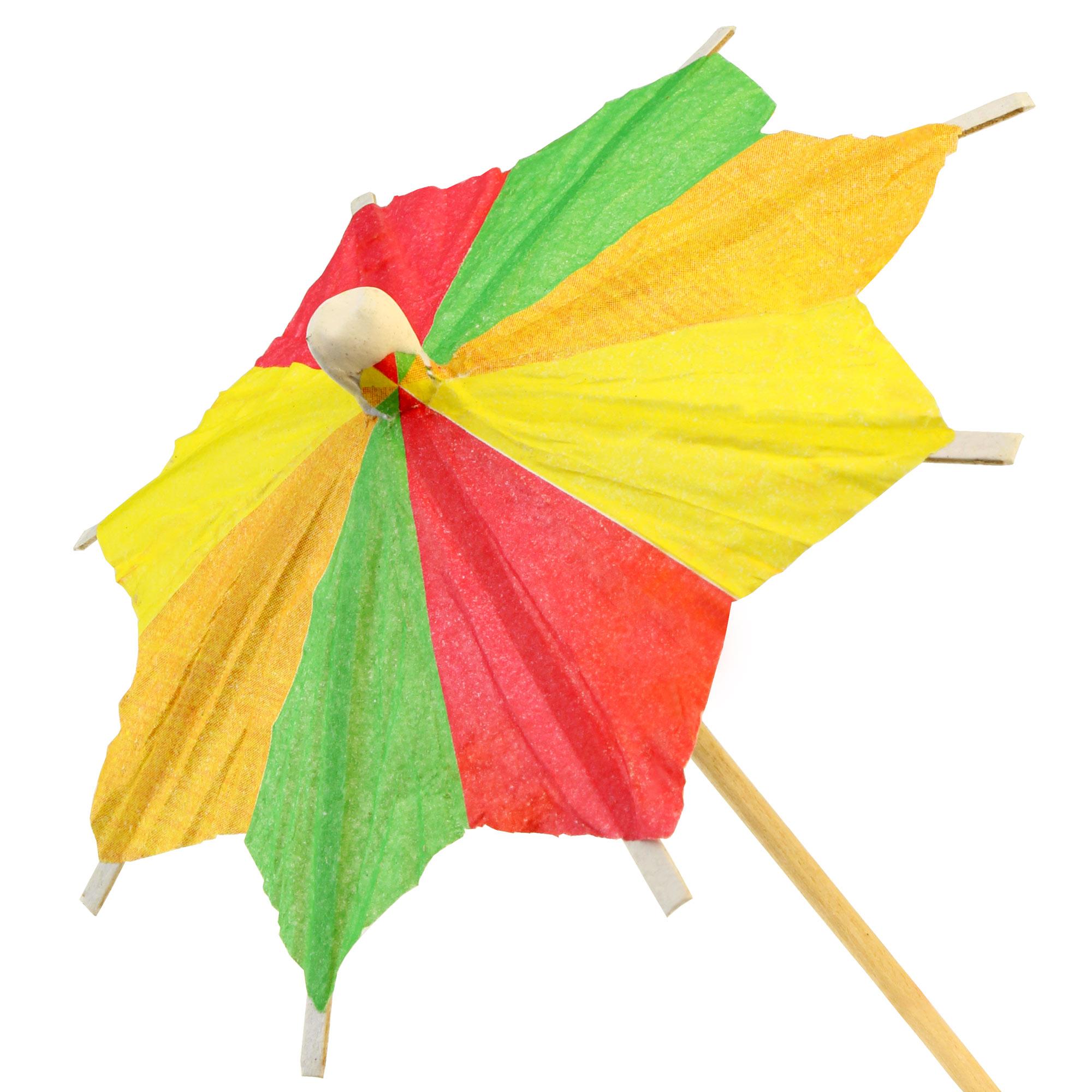 zick zack cocktail umbrellas paper parasol for cocktails