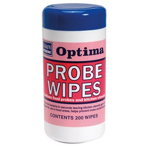 Optima Safe Probe Wipes