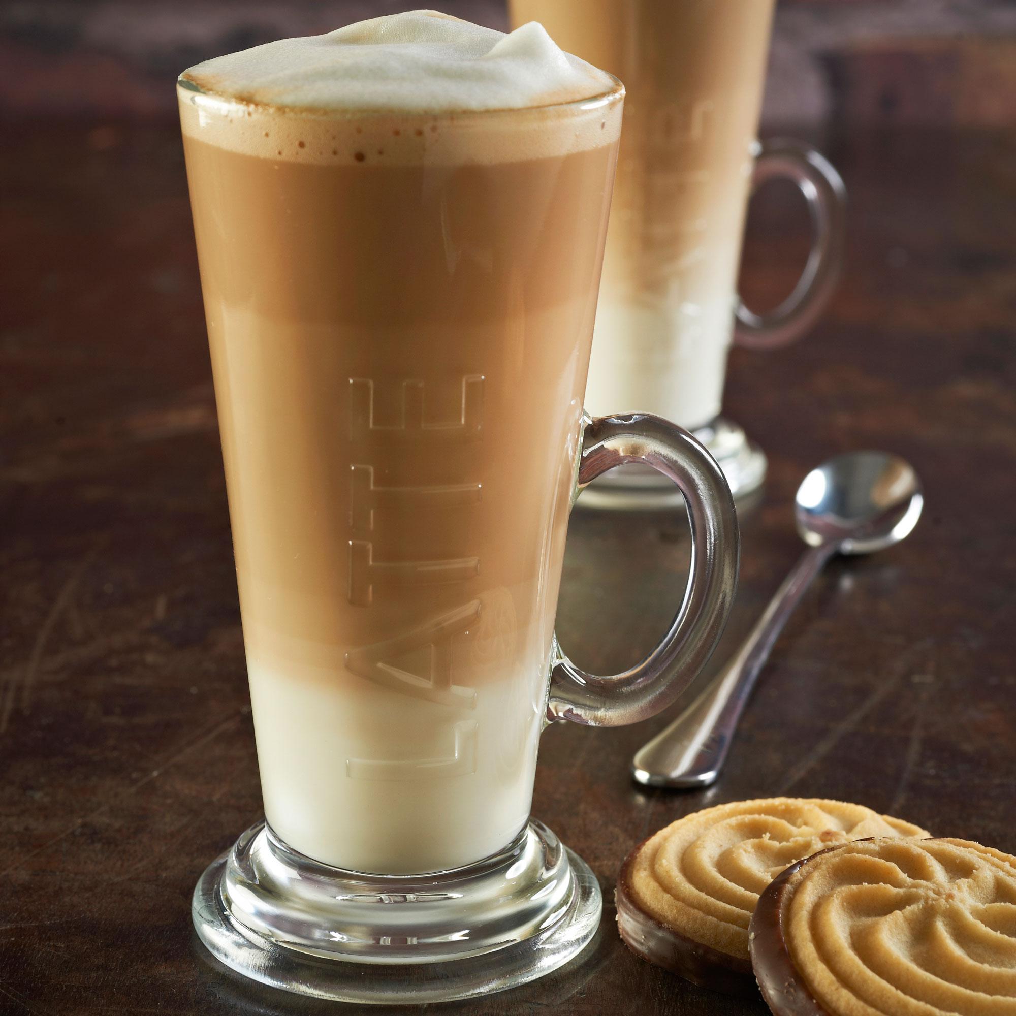 Ravenhead Entertain Embossed Latte Glass 8.4oz / 240ml