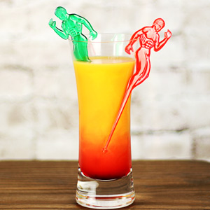 Hunky Man Cocktail Stirrers