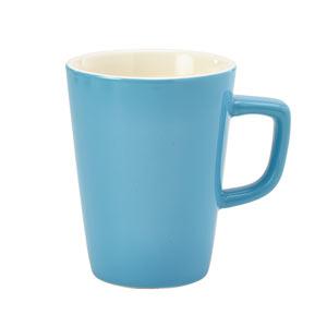 Royal Genware Latte Mug Blue 12oz / 340ml