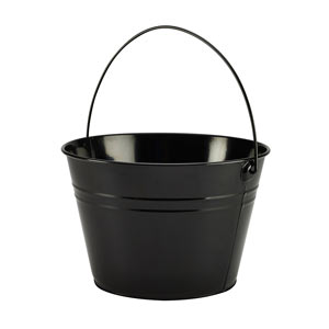 Genware Serving Bucket Black 25 x 17cm