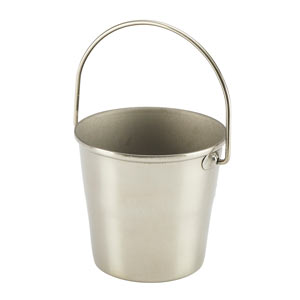Genware Stainless Steel Miniature Bucket 4.5cm
