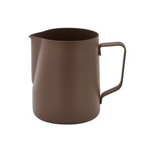 Non-Stick Frothing Jug Brown 20oz / 600ml