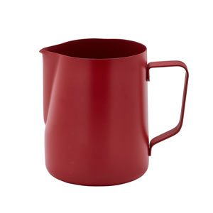 Non-Stick Frothing Jug Red 20oz / 600ml