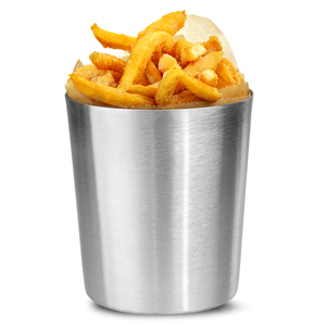 Plain Chip Cup 10 x 11.4cm