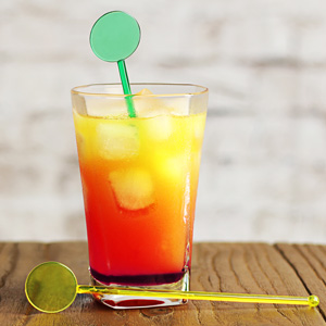 Swizzle Stick Disc Cocktail Stirrers