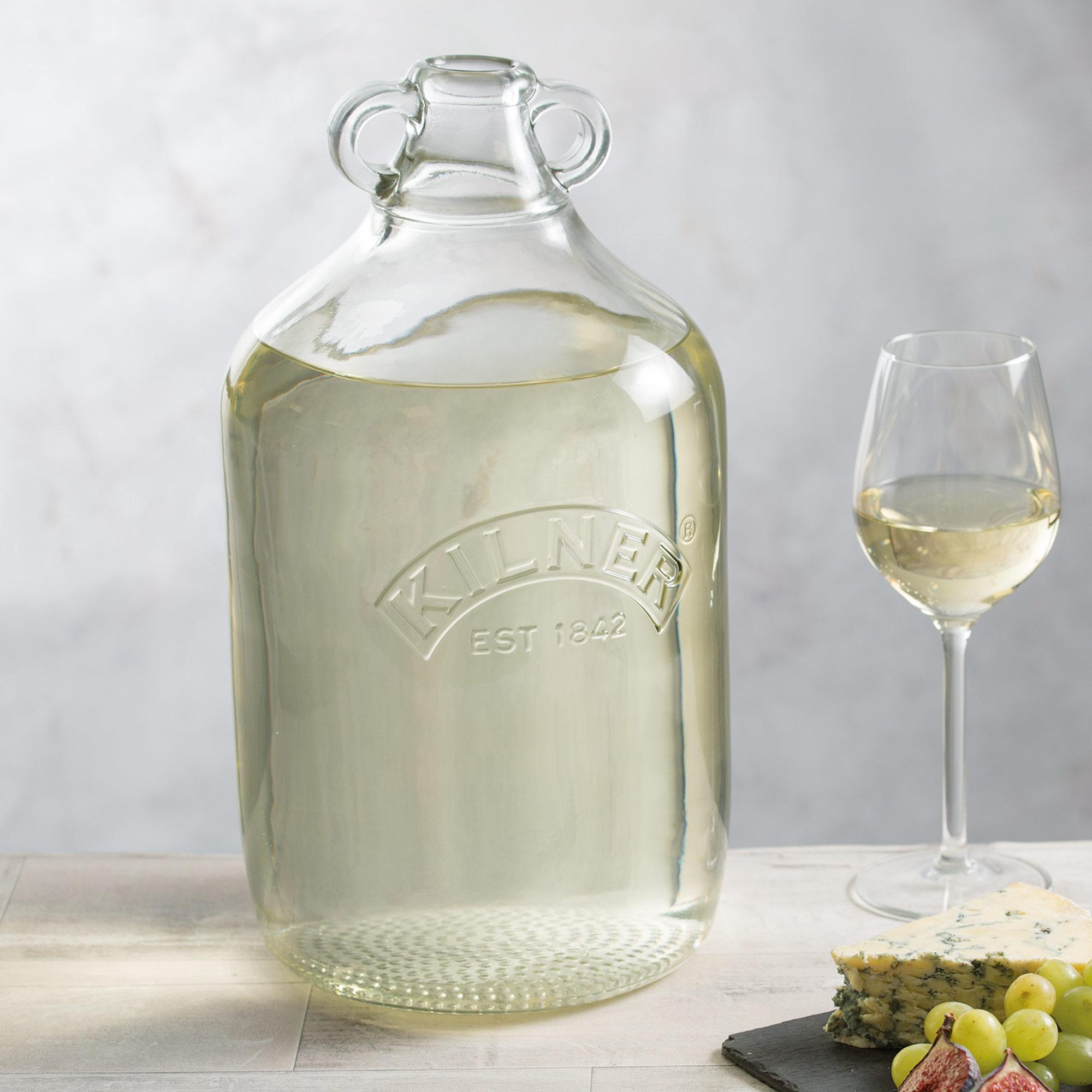 Kilner Demijohn 1 Gallon 4 5ltr Home Made Wine Bottle