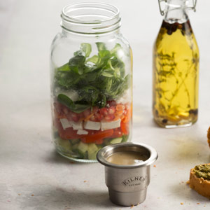 Kilner Food On The Go Jar 1ltr