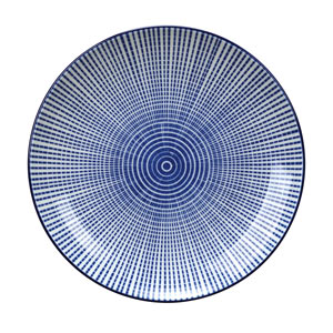 Tao Plate Blue 19cm