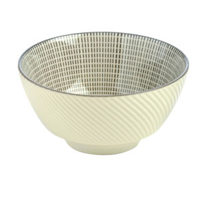 Tao Rice Bowl Grey 12cm