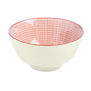Tao Rice Bowl Red 12cm