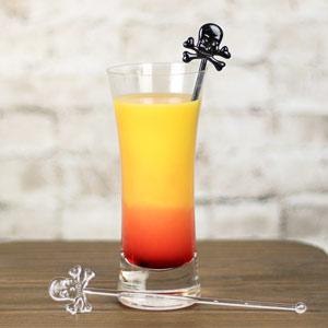 Skull & Crossbones Drink Stirrers