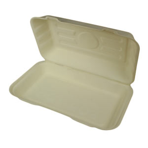 Sugarcane Fish & Chip Clamshell Food Boxes