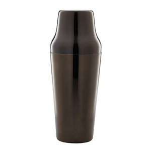Gun Metal Black Parisian Cocktail Shaker 26oz / 700ml