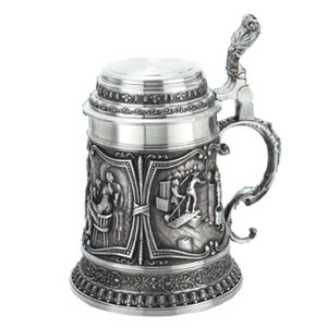 Beirkrug Gambrinus Beer Stein 17.6oz / 500ml
