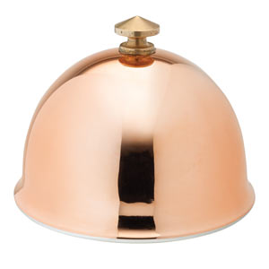 Copper Dome for Butter Dish 8cm